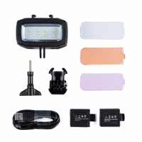 30M LED Lamp Waterproof Video Flashes Light Super Bright Diving Fill Lamp Suitable For GoPro Xiaomi Yi SJCAM Camera Accessories