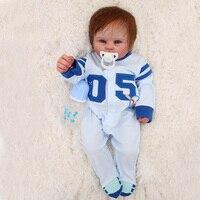 55 см полный Силиконовый reborn Младенцы Куклы reborn baby bathe мальчик ограниченные куклы Бесплатная доставка классные игрушки Дети Рождественский