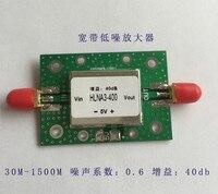 Düşük Gürültü Genişbant Amplifikatör Yüksek Kazanç 40dB Gürültü 0.6dB Çalışma Aralığı 30 M-1.5G HLNA