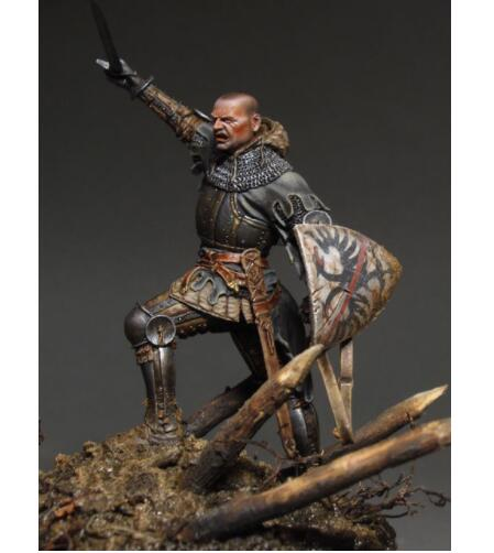 1/24 75mm Man At Arms Ancient Soldier 75mm    Toy Resin Model Miniature Kit Unassembly Unpainted