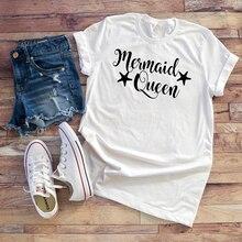 48c853ec080 T Shirt Women Tops Plus Size Graphic Tee Women Mermaid Shirt Basic T Shirt  Slogan T