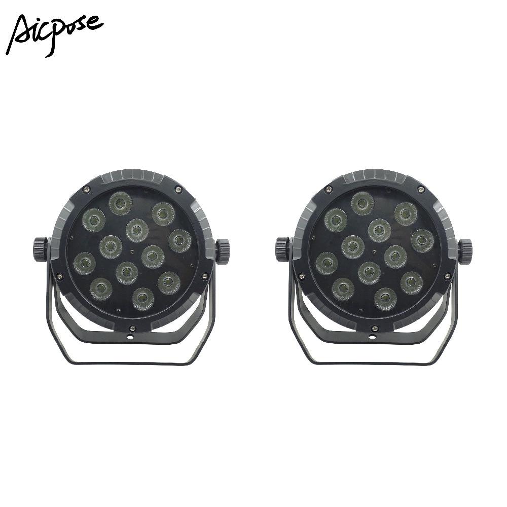 2pcs/lots IP65 Waterproof Led Par Light 12*18W 4in1/5in1/6in1 Outdoor Waterproof Stage Light 12x18w Big Lens Led Par 64