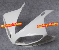 GZYF Upper Front Fairing Cowl Nose Fits for Yamaha 2009 2010 2011 2012 YZF R1 Injection Mold ABS Plastic