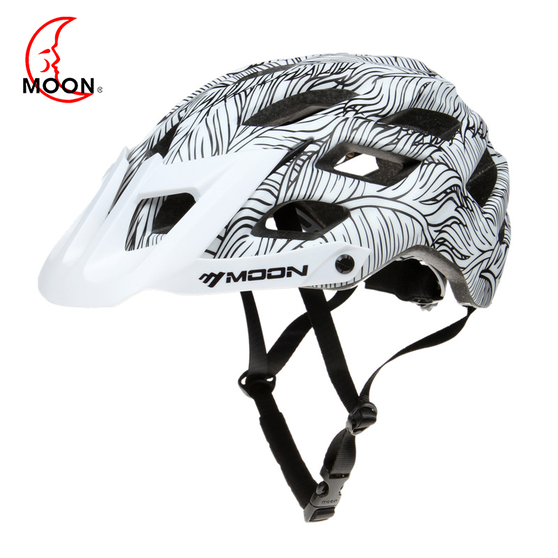 MOON Bicycle Helmet MTB Cycling Bike Sports Safety Ultralight Helmet OFF-ROAD Super Mountain Bike Cycling Helmet For Outdoors цены