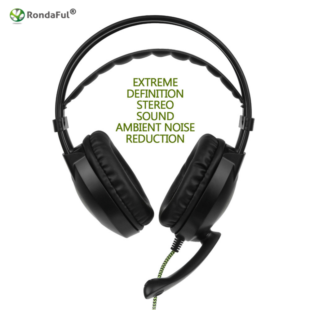 Headphones 3.5mm HD Stereo Game Headset Headphones Headphones for a Mobile Phone PS4 / Xbox One / PC / Mac / Tablet / Laptop аксессуары для игровых приставок microsoft xbox one stereo headset