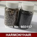 (1000 unids/botella) Al Por Mayor 3.4*3.0mm tubo de cobre anillo micro extensión del pelo de silicona para I granos de la extensión del pelo de punta del pelo herramientas