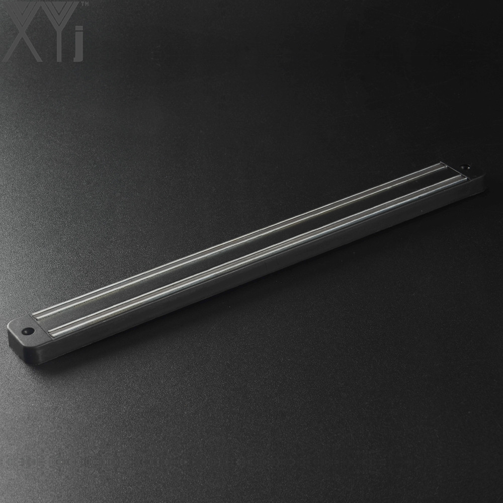XYj Fashion Magnetic Stainless Steel Knife Holder Kitchen Block Magnetic Knife Rack Strip Kitchen Knives Bar For Metal Tools