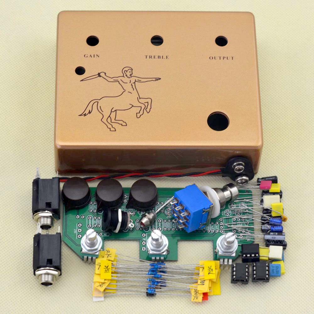 купить Make Your Own Klon Centaurs Professional Overdrive Guitar Effect Pedal All Kits True-Bypass Free Shipping по цене 2783.93 рублей