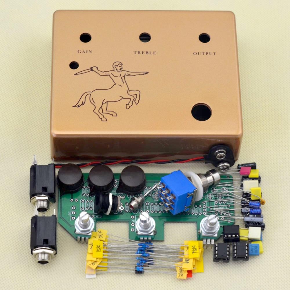 Maak je eigen Klon Centaurs Professional Overdrive Gitaareffectpedaal Alle kits True-Bypass Gratis verzending