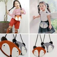 Fox оранжевый ремне досуг серый случайные девушки сумки сумка на детские