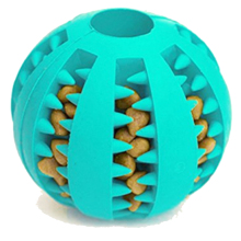 7CM Rubber Pet Dog Toys Ball Funny Natural Non-toxic Pet Dog Bite Resistant Teeth Cleaning Chew Toy 05