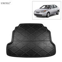 Uxcell tapis de plancher de coffre arrière de voiture doublure de coffre pour Hyundai Elantra Avante 2007-2011