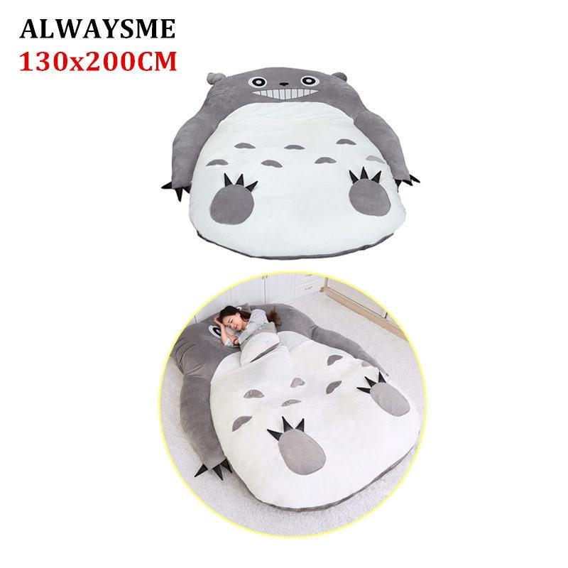 Alwaysme 130x200 Cm Totoro Einem Stück Design Faul Sofa Bett Abdeckung Tatami Matten Ohne Füllstoff Baumwolle Innen Starke Verpackung