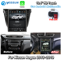 YESSUN 12.1'' HD Super Screen For Nissan Rogue 2013~2019 Car Radio Android Carplay GPS Navi maps Navigation Camera no CD DVD
