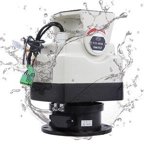 Image 4 - Yüksek kapasiteli IP ağ ağır kamera gözetim ev güvenlik aksesuarları RS485 kontrol otomatik büyük kamera Pan Tilt motoru