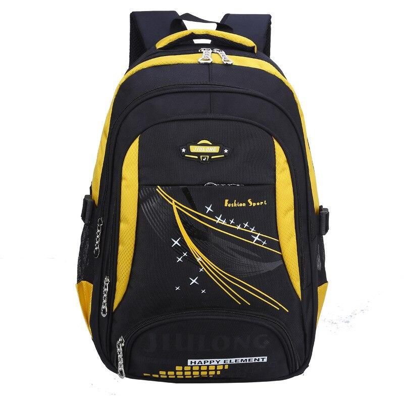 5994bd041803 Непромокаемые детские школьные сумки рюкзак Детская Книга сумка модная  Начальная школа сумки портфель для мальчиков и