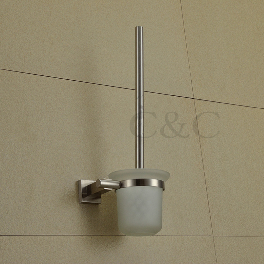 100% Quality Assurance! Excellent Stainless Steel (sus304) Brushed Bathroom Toilet Brush Holders - Free Shipping YS-2010 free shipping 5pcs lot isl6259 isl6259a isl6259ahrtz qfn quality assurance 100