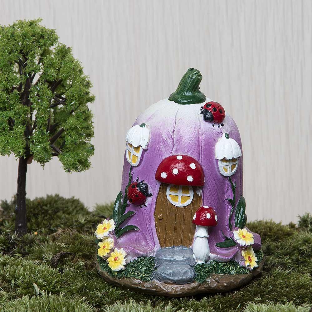 Casa de setas grandes Jardín de hadas Gnomo Musgo Terrario - Decoración del hogar