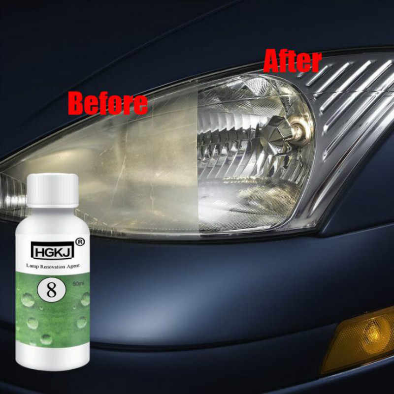 20/50ML Car polish Len Restoration Kit Headlight Agent Brightening Headlight Repair Lamp Renovation Agent Paint Care Car Styling