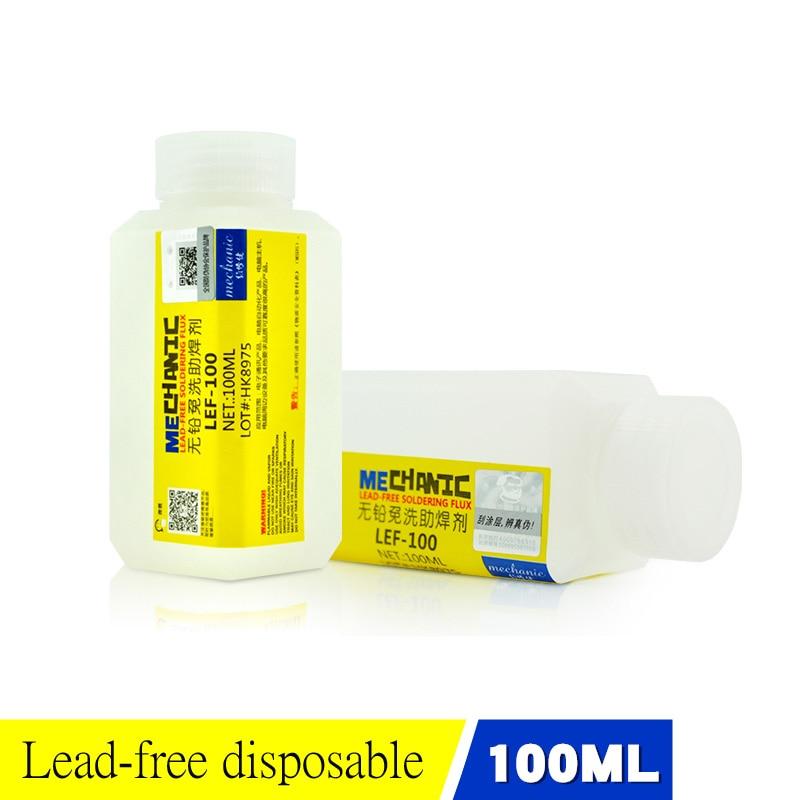 2018 Newest MECHANIC Repair Liquid Lubricant Lead-Free Solder Paste Low Odorless No Clean Environmental protection welding flux
