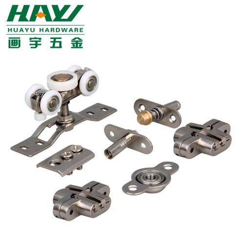 Sliding Door Hardware Parts Folding Door Accessories Round