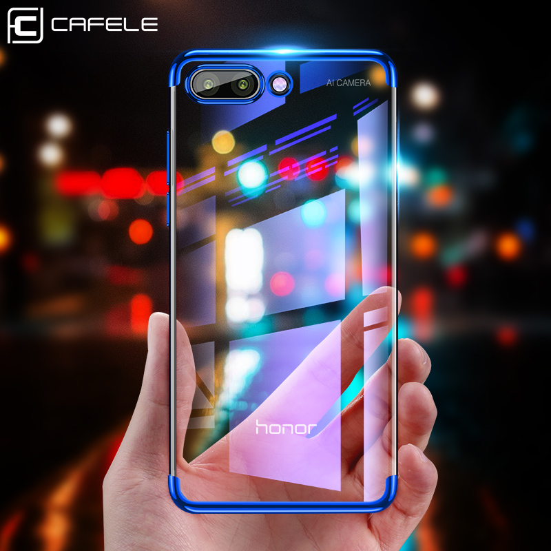 Details about For Huawei Honor 8X 10 9 7S 7A 7C 6 Plating Soft TPU Slim  Clear Back Case Cover
