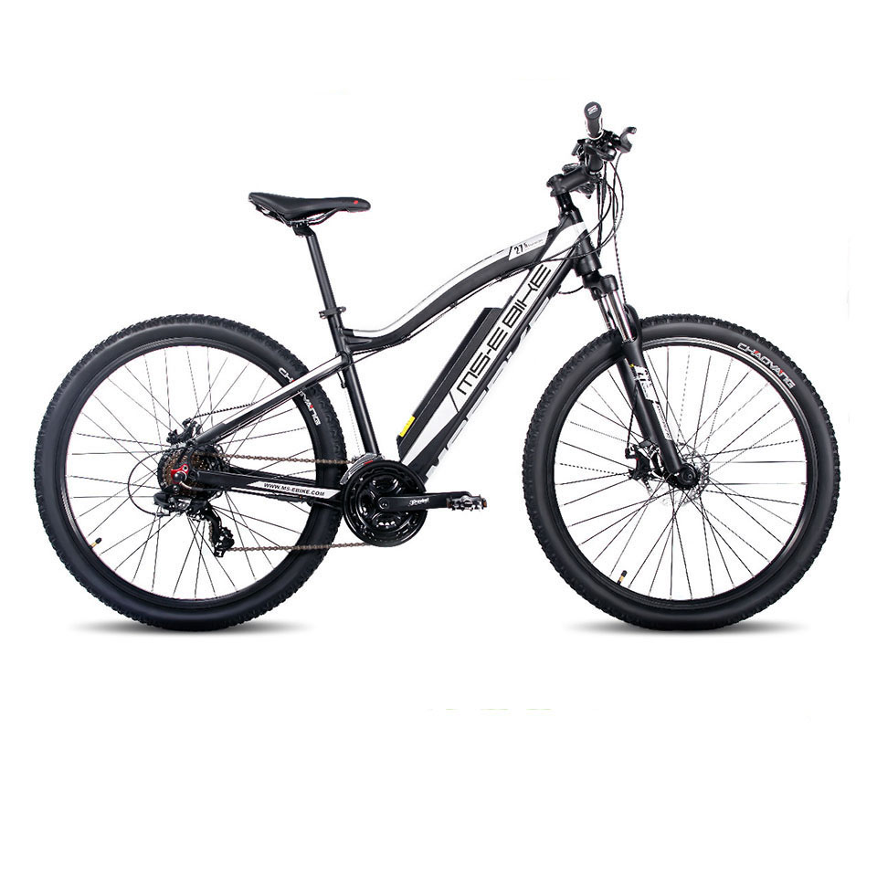 27.5inch electric mountain bicycle 36v Lithium battery 250w high speed motor pas 50-80km ...