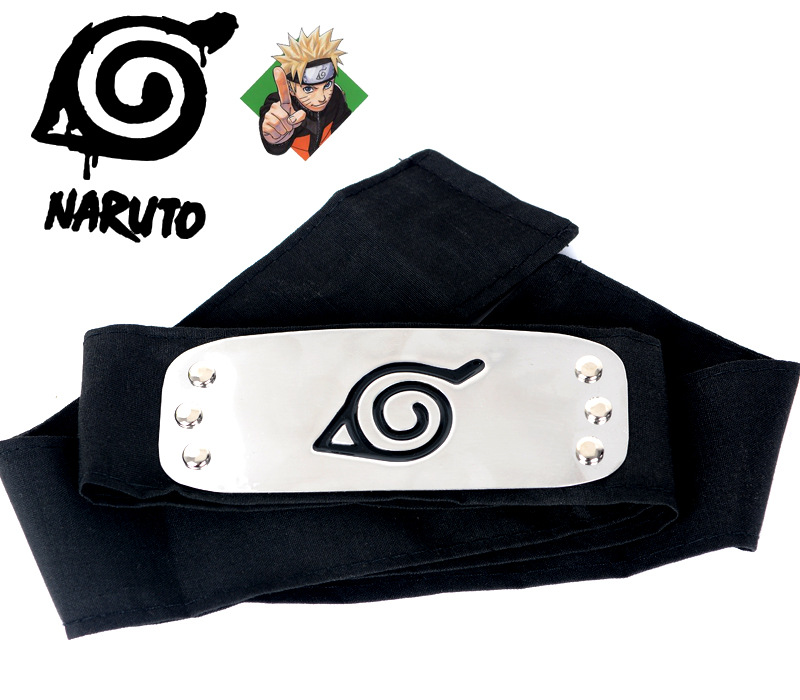 10pcs-Naruto-Forehead-Fashionable-Guard-Headband-Cartoon-Cosplay-Naruto-Headband