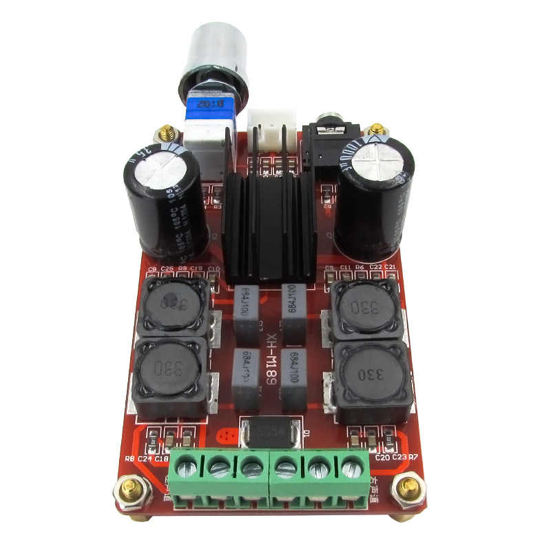 OTMM189 2*50 Вт высокого класса цифровой усилитель мощности доска DC24V TPA3116D2 двухканальный усилитель мощности совета