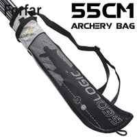 55cm Large Capacity Outdoor Hunting Back Arrow Quiver Archery Bow Holder Belt Bag Arrows Bow Quiver Single/Shoulder Arrow Bag
