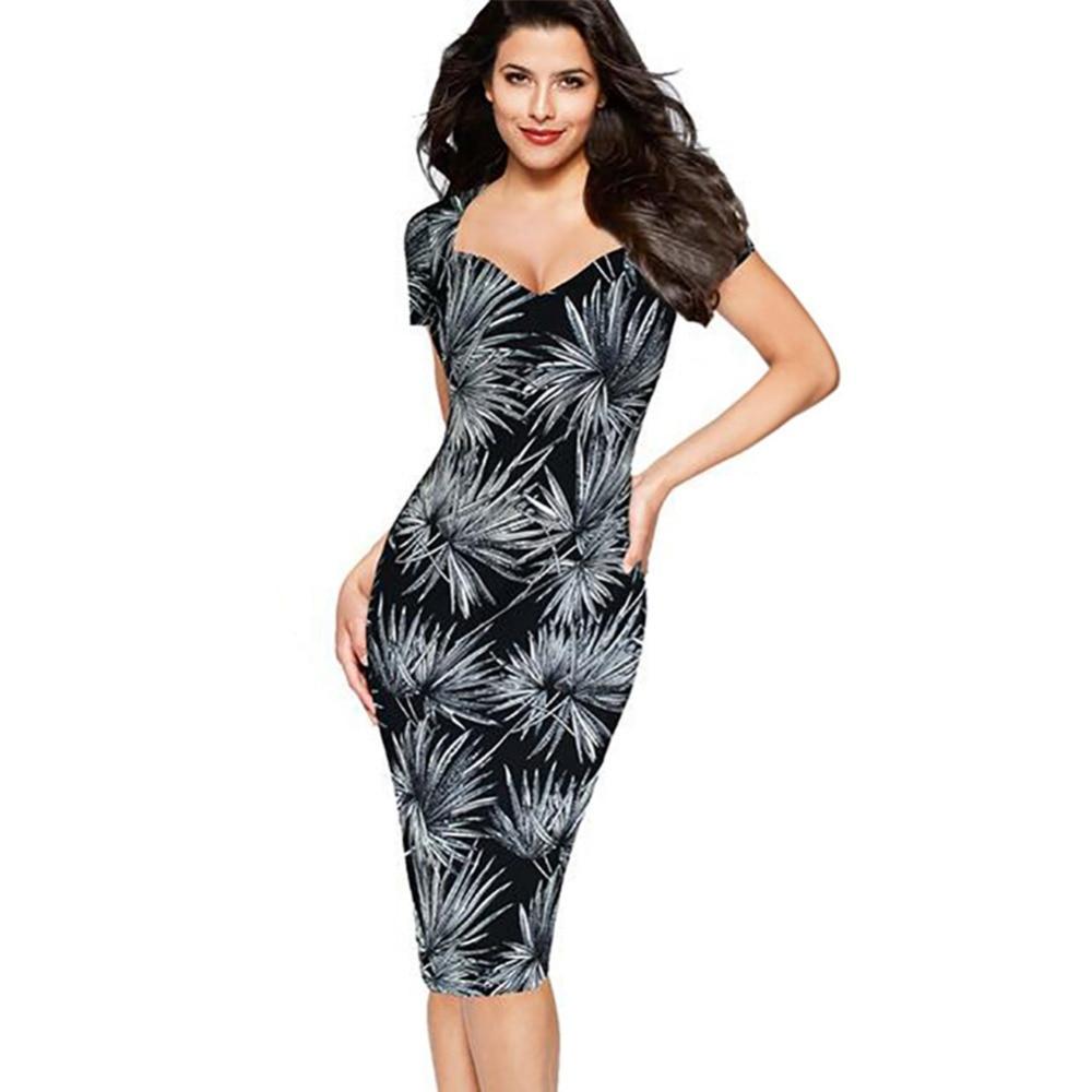 Women Summer Dress for Women Bodycon Package Black Short ...