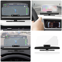 Car Wireless Charger Qi HUD GPS Phone Holder Head Up Display