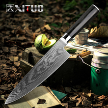 XITUO Damascus Knives Chef Knife Japanese Kitchen VG10 67 Layer Stainless Steel Ultra Sharp Sashimi Cleaver