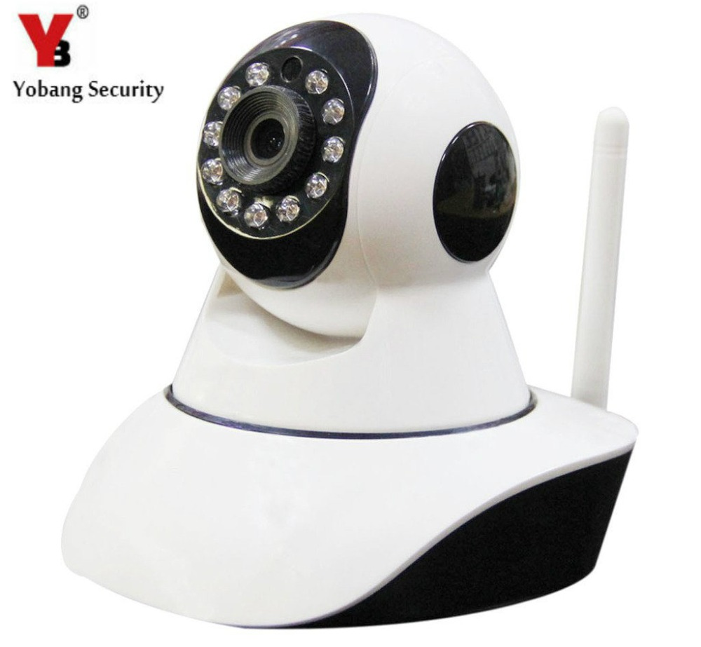 YobangSecurity Wifi Wireless IP Camera IR-Cut Night Vision Audio Recording Network CCTV Baby Monitor Wifi Home Security Cam sacam 720p wifi wireless ip camera with two way audio ir cut night vision video onvif p2p network webcam for home security alarm