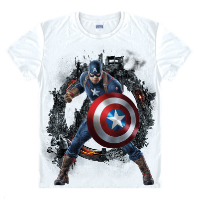 Batman Spiderman Venom Ironman Superman Captain America Winter soldier Marvel T shirt Avengers Costume Comics T-shirt TX093