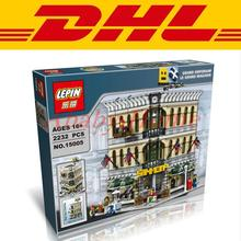 LEPIN 15005 Modular Moc Creator Grand Emporium Building Block Set Bricks Kits Minifigure Toys Compatible 10211