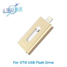 LL трейдер флэш-накопитель USB OTG USB 2,0 Stick для iOS устройств Android 64 ГБ 32 ГБ памяти U диск мини ручка привода