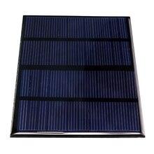Células de Silício 12 V 1.5 W Painéis Solares Epoxy Mini Policristalino Módulo Solar DIY 115x85mm
