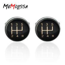 Memolissa 3 пары запонки с машинной передачей для мужчин Подарочные