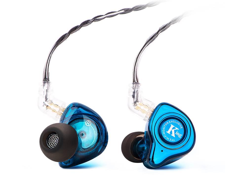 TFZ KING Updated Version Dynamic Driver 2pin 0 78mm Detachable HiFi In ear Earphones