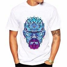 Breaking Bad heisenberg Walter White jessie pinkman t shirt short sleeve casual tshirt Breathable comfort plus