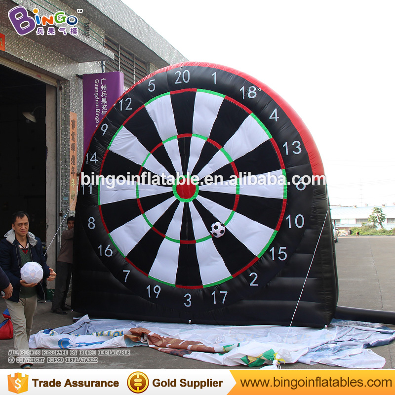 Free Delivery Inflatable Dart Game type 13 feet inflatable soccer football darts boards for toys sports