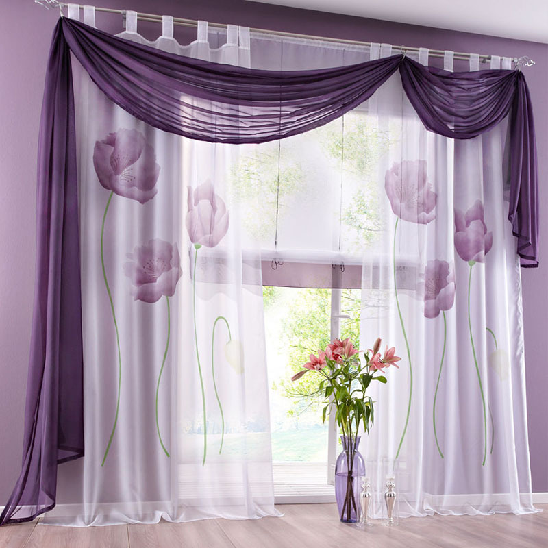 Aliexpress.com : buy new china window big flowe curtains roller ...