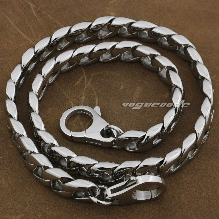 16 ~ 36 316L Stainless Steel Mens Biker Rocker Punk Wallet Chain 5L019WCA(Length 24inch)