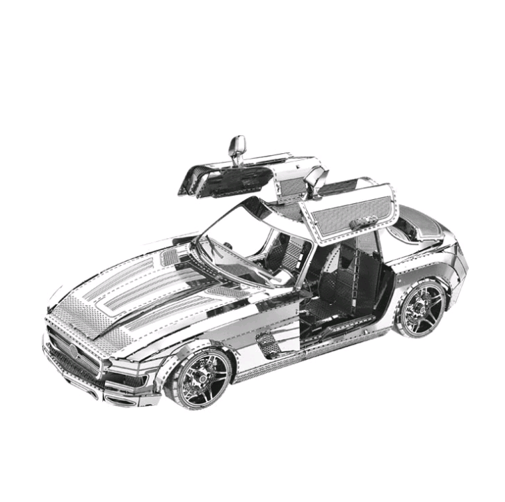 3D Metal Model Jigsaw Toy Sports Car DIY Jigsaw Model Kit Adult Children Puzzle Intelligence Development Education Collection