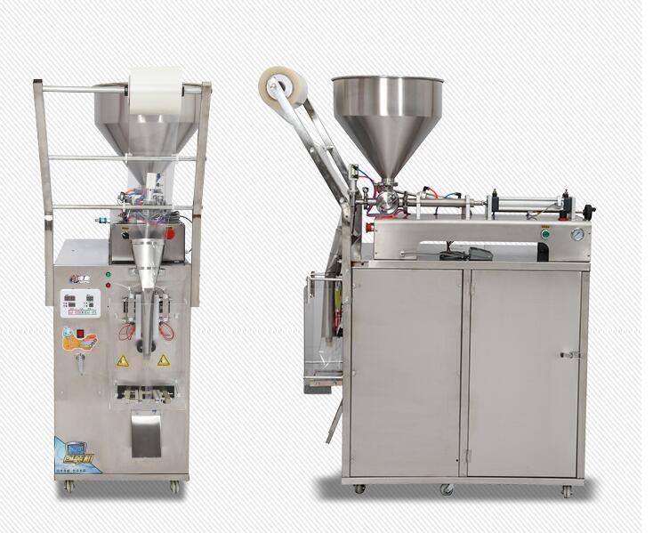 Sıvı ve krema, macun sıvısı için 10-50 ml otomatik dolum ve paketleme makinesi