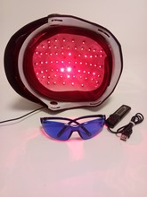 hot sell hair scale massager laser cap hat helmet for hair loss solution with glasses and
