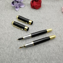 High quality Fountain Pen 50g/pc personalized with your company name/web/email best events gifts for customers