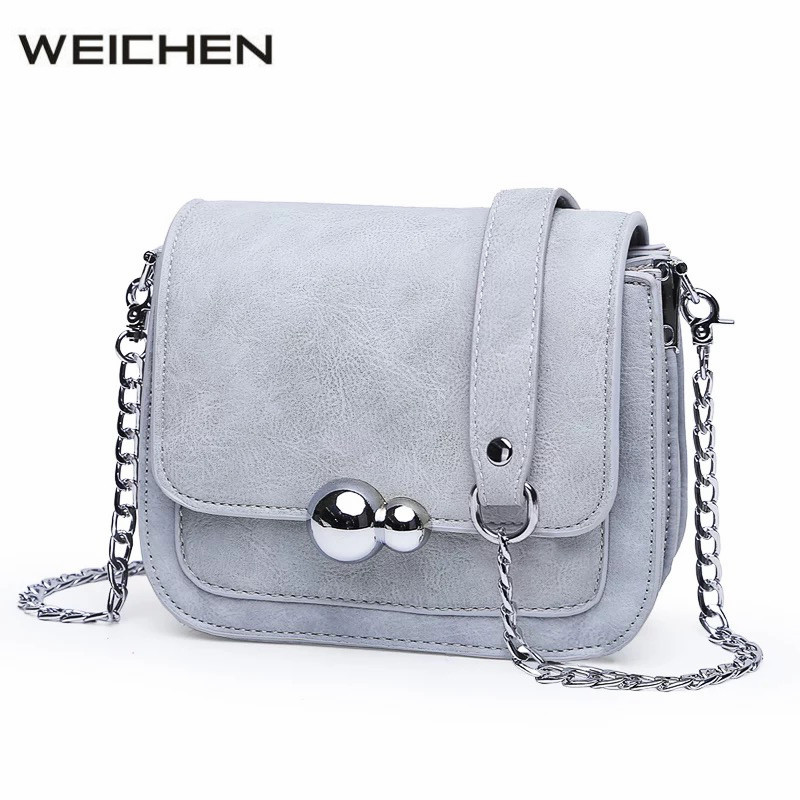 Gourd Buckle Mini Women Messenger Bag 2018 Newest Summer Fashion Chain Small Women's Crossbody Bag Female Simple Messenger Bags micocah women simple double color buckle buckle shoulder bag chain messenger bag gn40021