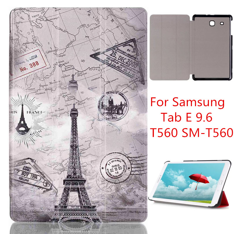 COVER For Samsung Tab E 9.6 T560 leather cover case funda For Samsung GALAXY Tab E 9.6 T560 SM-T560 tablet case COVER For Samsung Tab E 9.6 T560 leather cover case funda For Samsung GALAXY Tab E 9.6 T560 SM-T560 tablet case